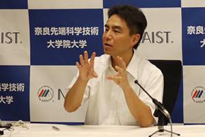 【写真】中島教授の記者会見