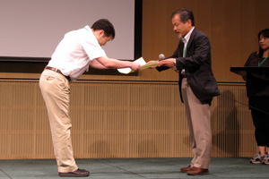 第八回梅園賞授賞式