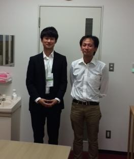 2014.06.12 阪大IFReCの三澤先生来訪