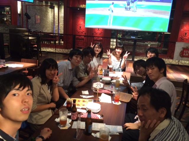 2014.07.25 全体ミーティング&飲み会